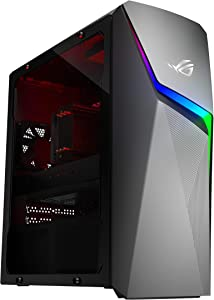 ROG Strix GL10DH Gaming Desktop PC, AMD Ryzen 7 3700X, GeForce GTX 1660 Ti, 16GB DDR4 RAM, 512GB SSD, Wi-Fi 5, Windows 10 Home, GL10DH-AH762