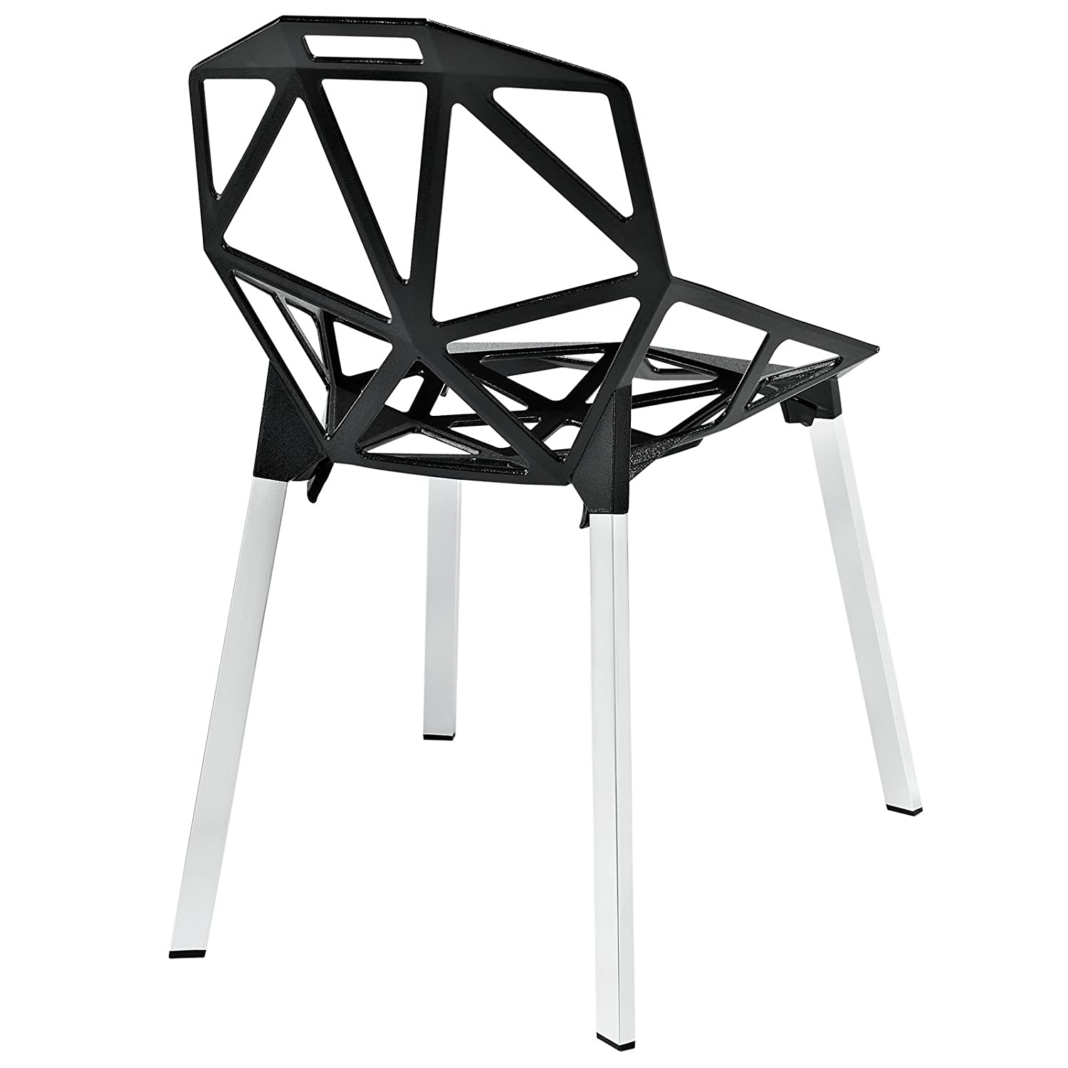 Amazon Modway Connections Dining Chair Black Chairs