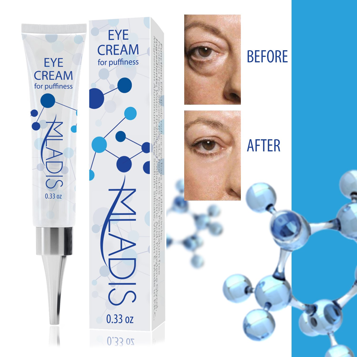 MLADIS Eye Firming Cream - Eye Bag Cream