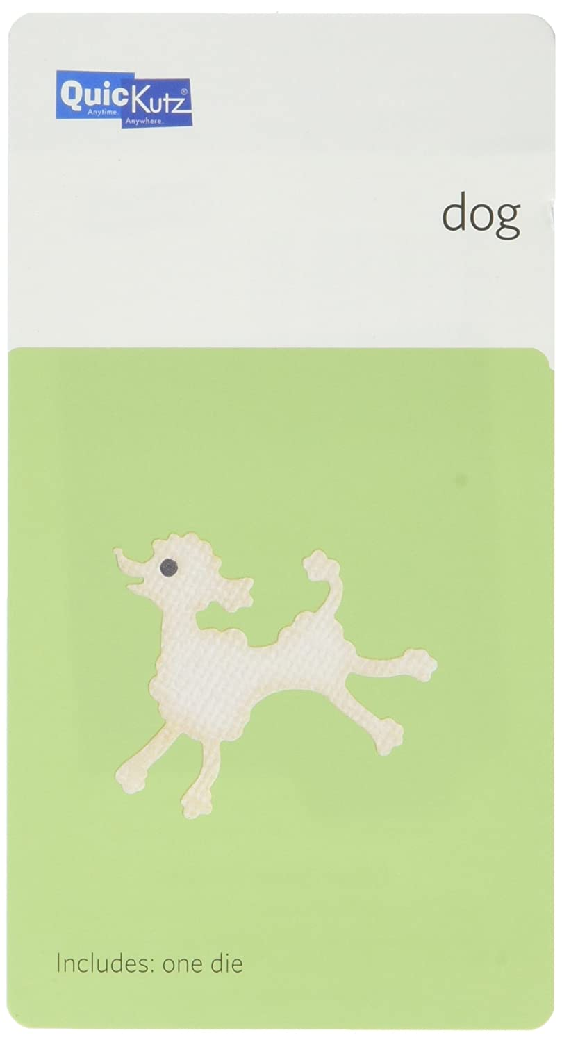 We R Memory Keepers 2-Inch by 2-Inch Die, Poodle by QUICKUTZ B0036RRXOA