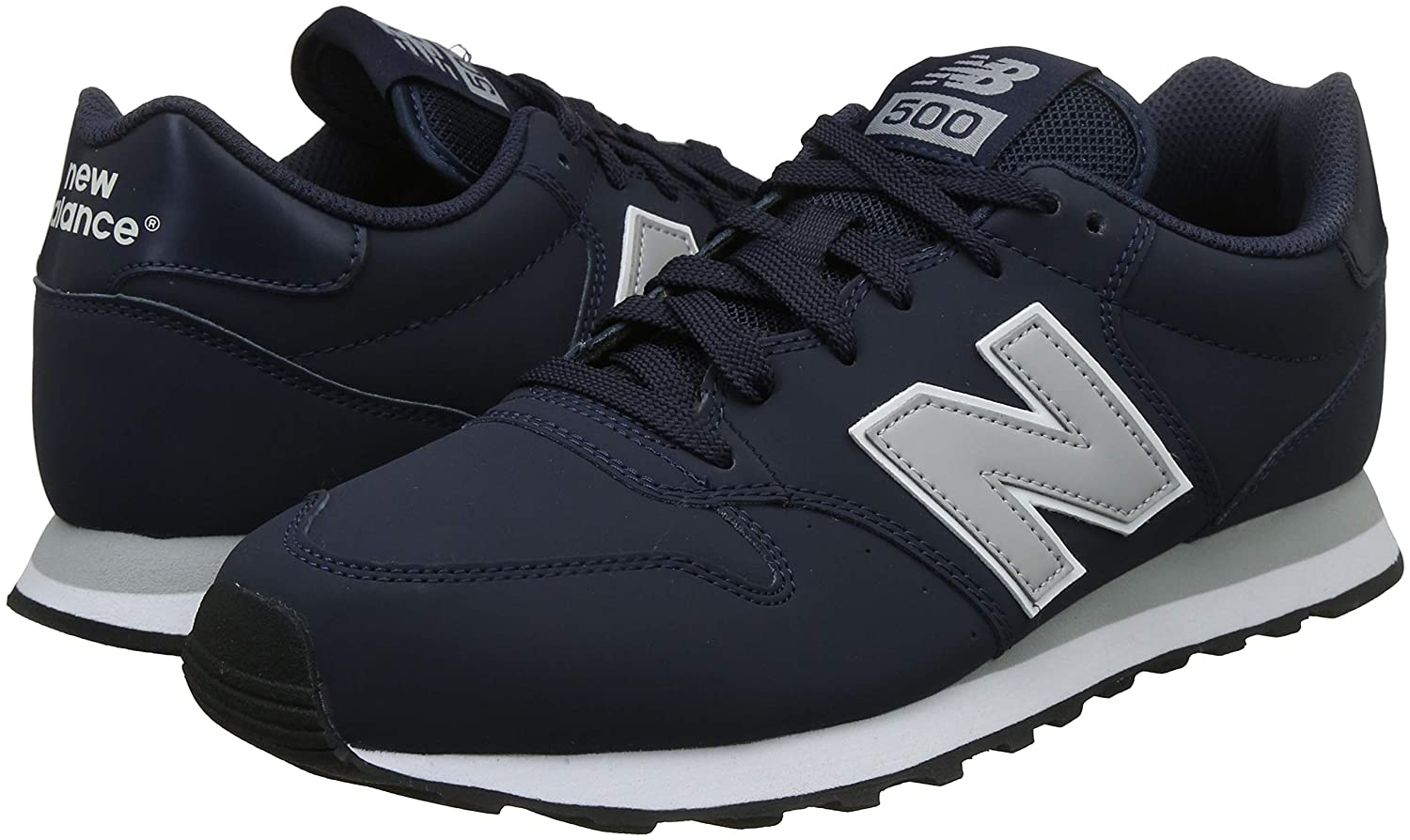 Rechazar Problema biografía  Buy new balance Men's Navy Sneakers-6.5 UK/India (40 EU)(7 US) (GM500BLG)  at Amazon.in