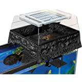Penn Plax Reptology Life Science Turtle-Topper Above-Tank Basking Platform