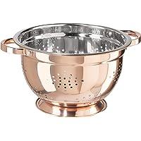 Oggi Copper Plated Stainless Steel Colander (4-Quart), 5