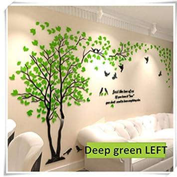 Amazon.com: Jewh Large Size Tree Acrylic Decorative 3D Wall ...