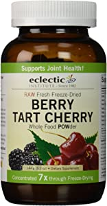Eclectic Institute Raw Fresh Freeze-Dried Berry Tart Cherry, Non-GMO Whole Food Powder, 5.1 oz (144 g)