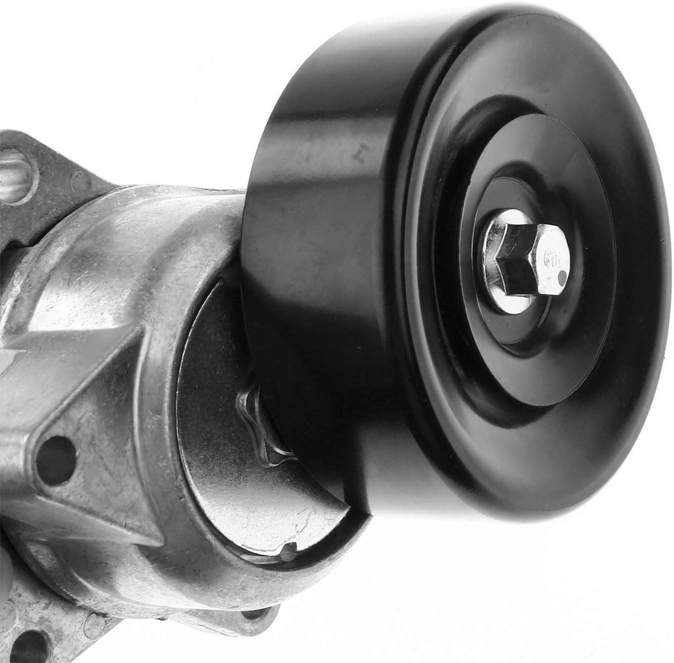 A-Premium Belt Tensioner Assembly Compatible with Nissan Armada Titan 2005-2015 Pathfinder 2008-2012 Infiniti QX56 2004-2010