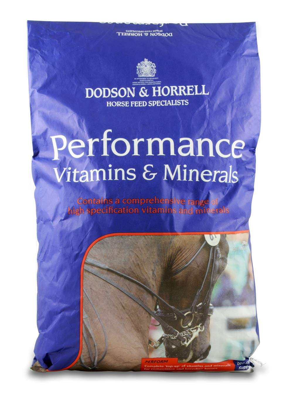 20 kg Dodson & Horrell Unisex's DHL0965 Performance Vitamins and Minerals, Clear, 20 kg