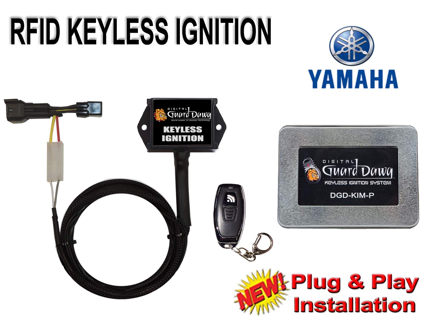 Keyless Ignition for Yamaha-FZ 09 2014-2018 by Digital Guard Dawg (Image #1)