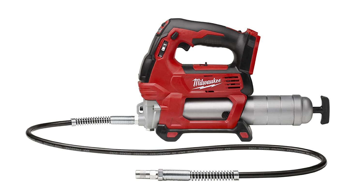 Milwaukee 2646-20 M18 18-Volt Lithium-Ion Cordless 2-Speed Grease Gun (Bare Tool)