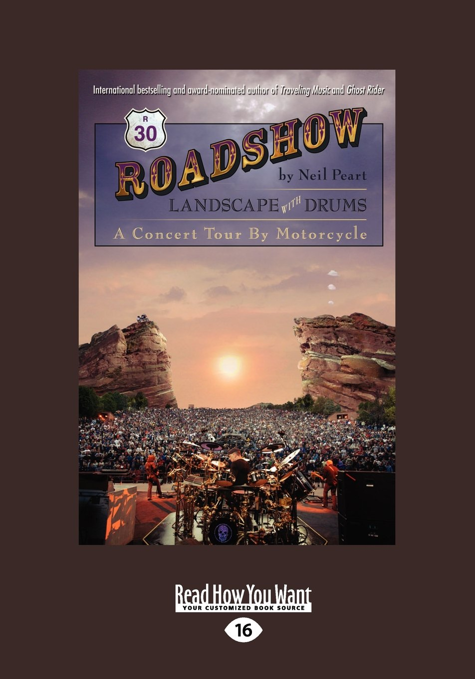 Download Roadshow: Landscape with Drums: A Concert Tour by Motorcycle pdf