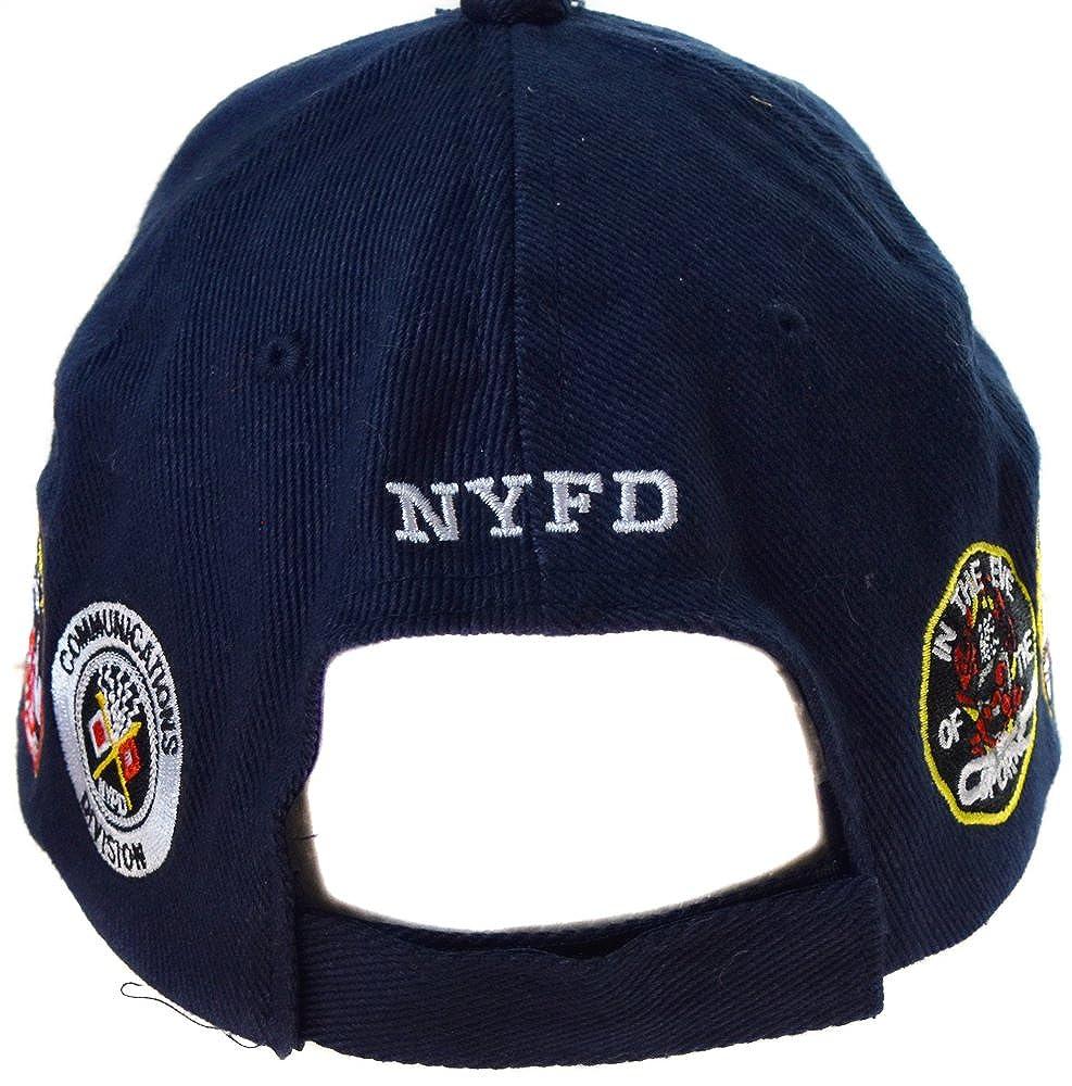 e3e9af7fdda81 topt mili Casquette Pompier New York NY Americaine us USA brodée nyfd  Policier  Amazon.fr  Vêtements et accessoires