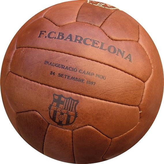 Balón Oficial FCB Retro: Amazon.es: Deportes y aire libre