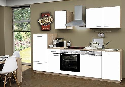 idealShopping Küchenblock mit Geschirrspüler und Ceranfeld Classic ...