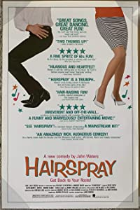 HAIRSPRAY MOVIE POSTER 1 Sheet ORIGINAL ROLLED 27x41 SONNY BONO JOHN WATERS