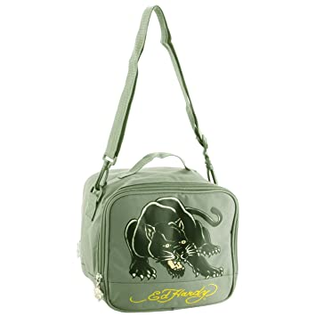 6e4b861ff9 Amazon.com  Ed Hardy Shal Panther Lunchbox- Asphalt  Lunch Boxes ...