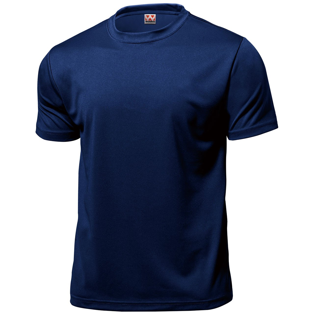 Wundou Boy's Dry light Sports T-shirts P330 150CM(59'') Navy