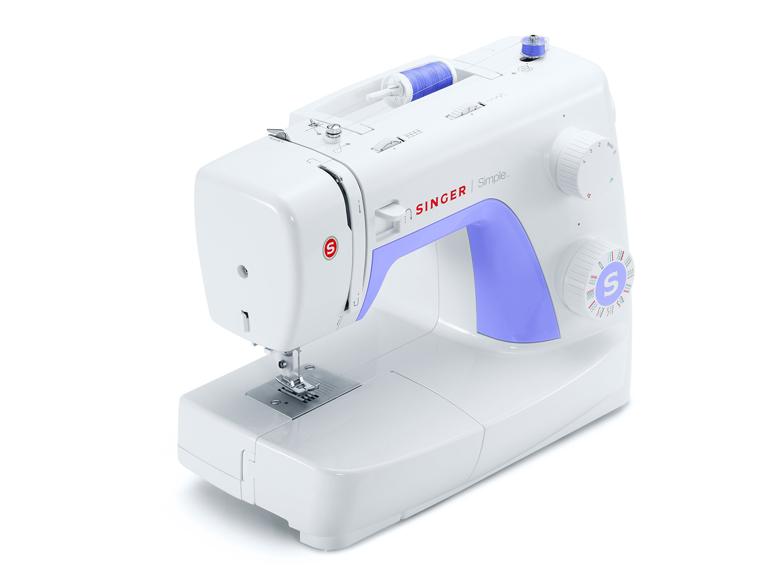 SINGER | Simple 3232 Portable Sewing Machine with 32 Built ...