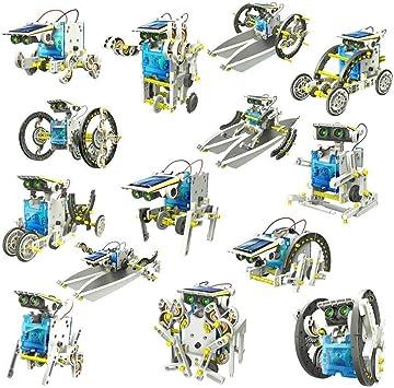 Protokart Educational 14 in 1 Solar Robot Kit Toys for Kids Learning Purpose Robotic Kit