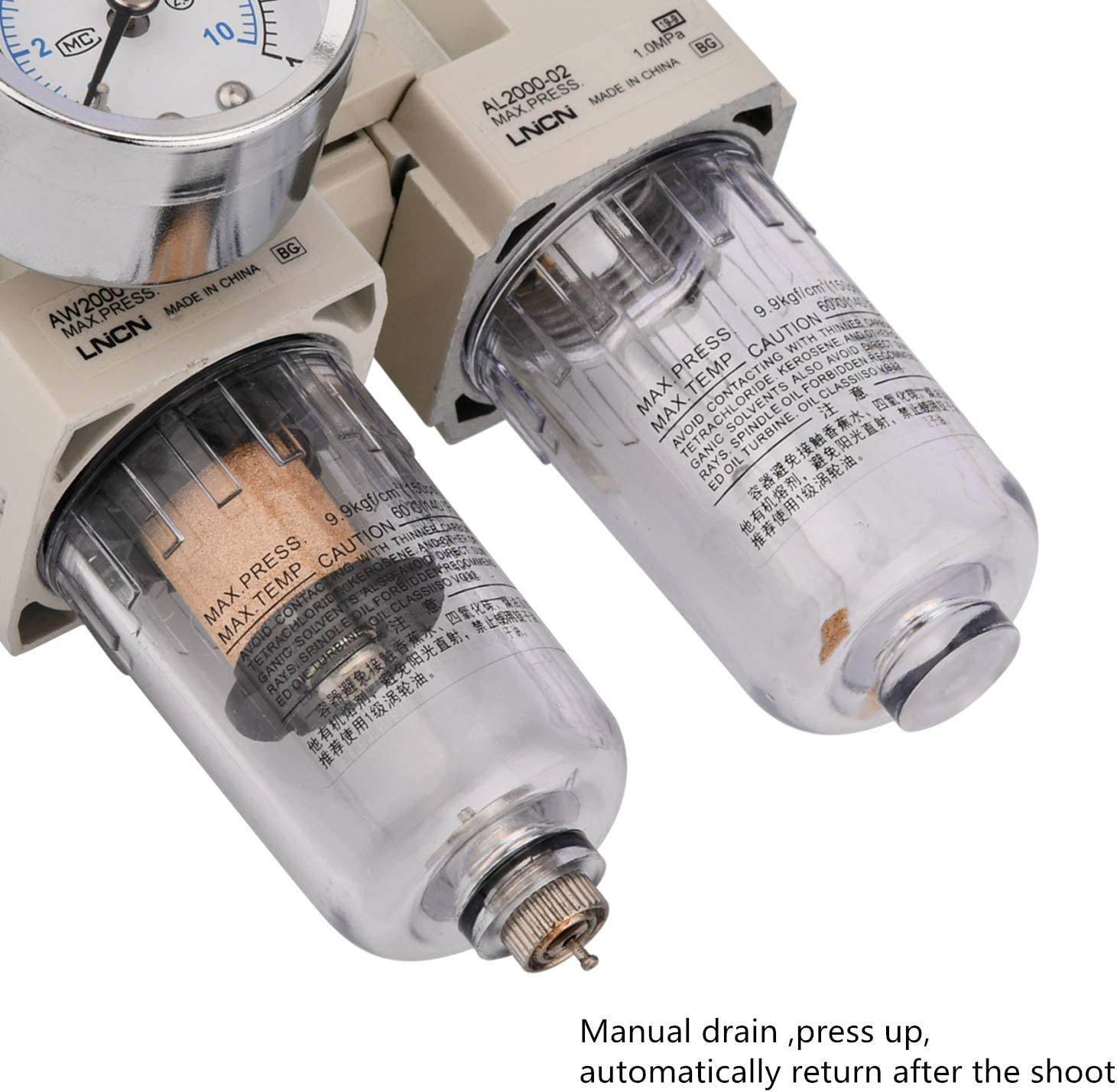 AW2010 Shiningeyes Professional Air Pressure Regulator
