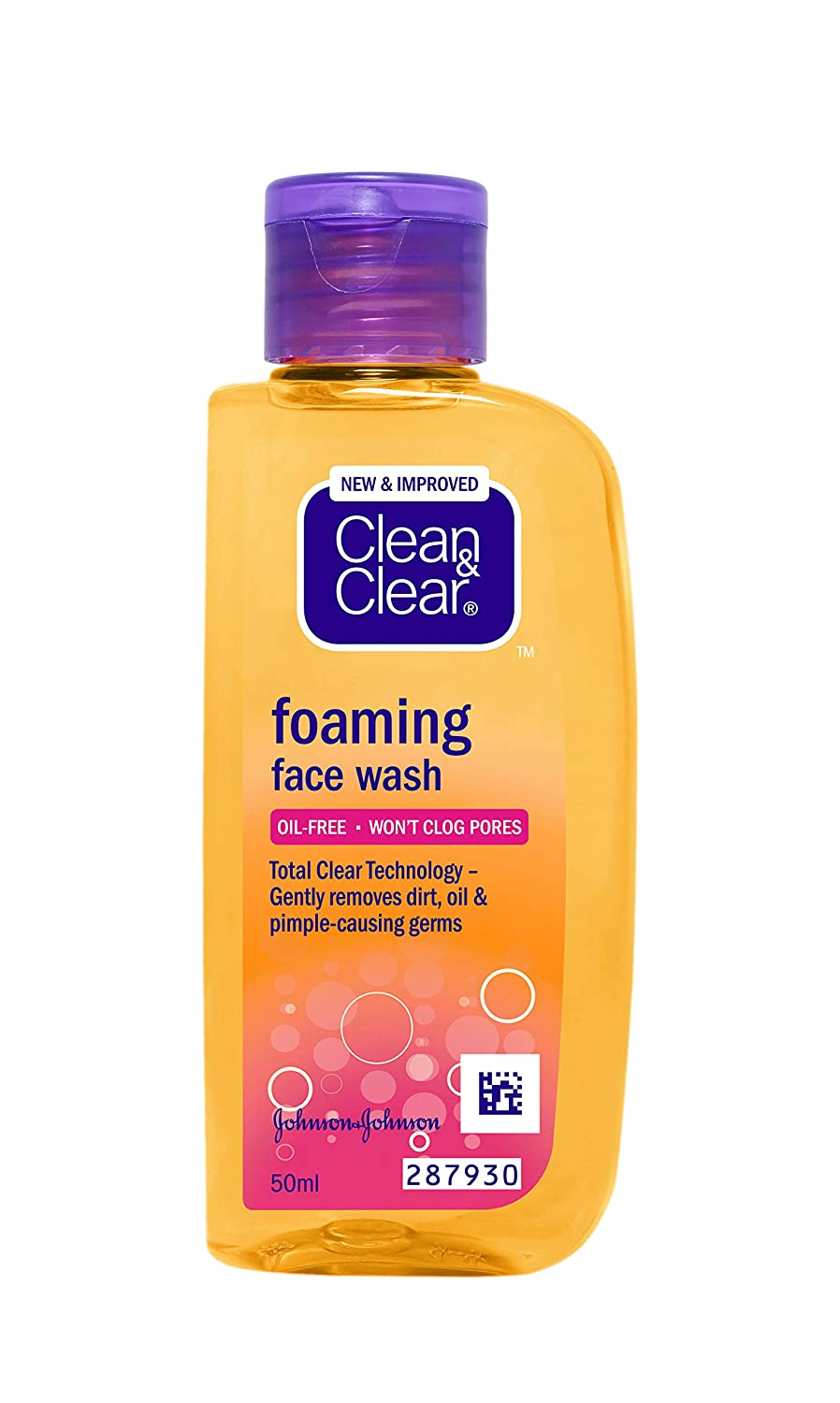 clean clear face wash