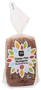 365 by Whole Foods Market, Sandwich Bread, Gluten Free Multigrain (17 Slices), 2 Ounce