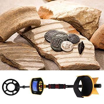 Aawsome Detector De Metales Subterráneo MD-3010II Gold Digger Treasure Hunter Deep Sensitive: Amazon.es: Hogar