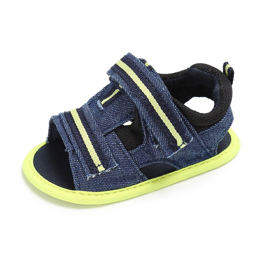 ❤Ywoow❤❤ , Newborn Infant Baby Girls Boys Summer Soft Sole Toddler Anti-Slip Shoes Sandals