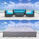 Urban Furnishing Premium Outdoor Patio Furniture Cover (6.8' x 6.8' x 2.3')
