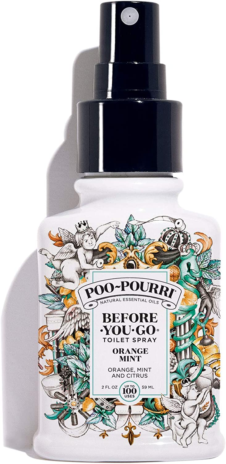 Poo-Pourri Before-You-Go Toilet Spray, Orange Mint Scent, 2 oz