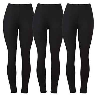6ee4a3912a0ec1 Aenlley Women's Fashion Spandex Leggings - Ultra Soft Workout Legging Pack  of 3