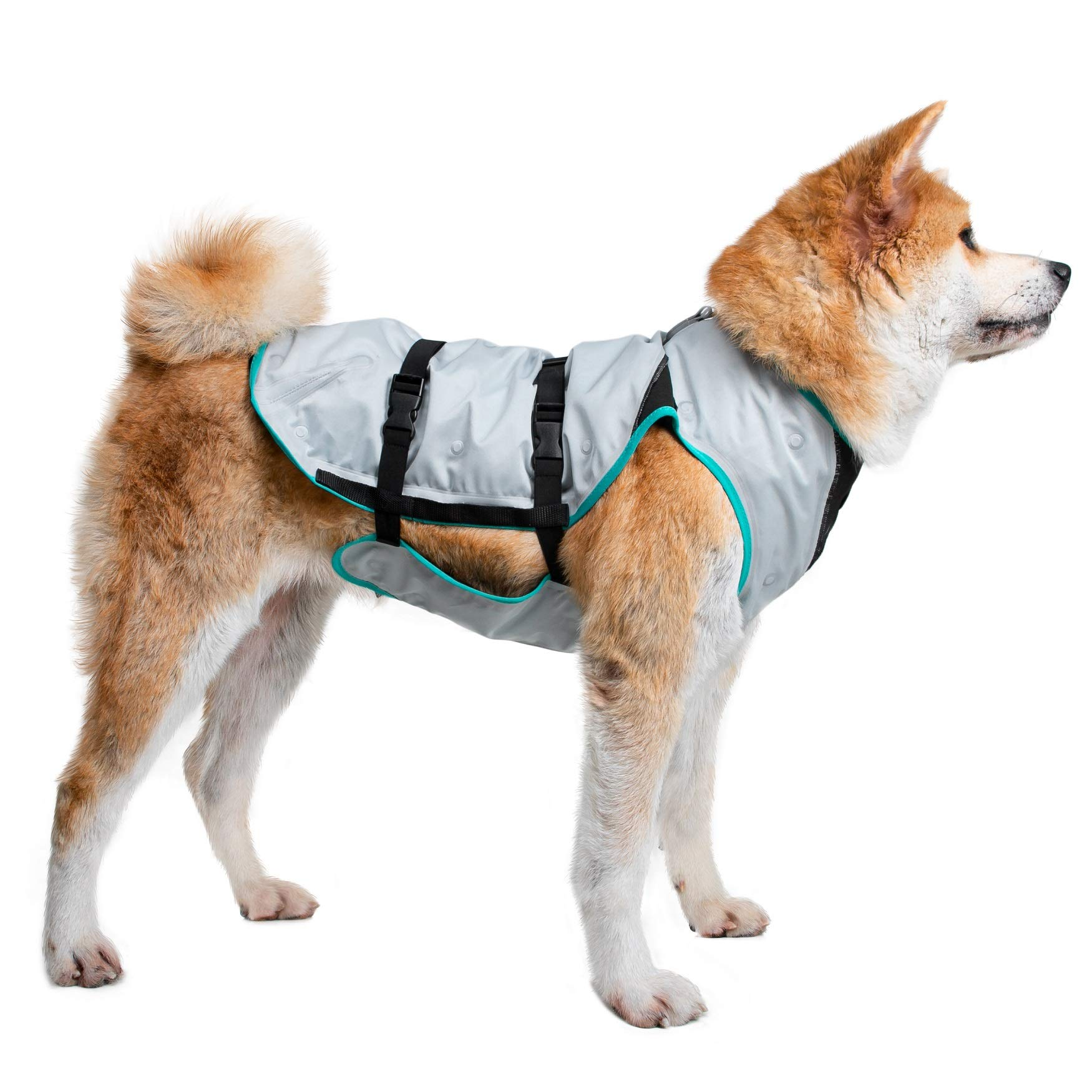 Suitical Dry Cooling Vest Dog, Small, Silver by Suitical