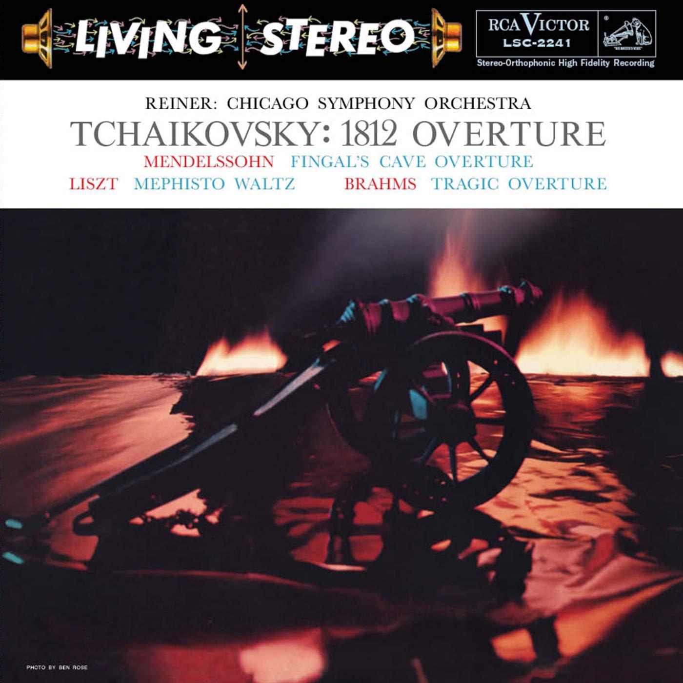 Vinilo : Fritz Reiner - Tchaikovsky: 1812 Overture (200 Gram Vinyl)