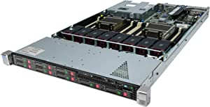 High-End HP ProLiant DL360P G8 Server 2 x 2.90Ghz E5-2690 8C 192GB 8x Caddies (Renewed)
