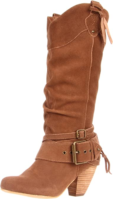 Pick SZ//Color. Naughty Monkey Womens Double up Slouch Boot