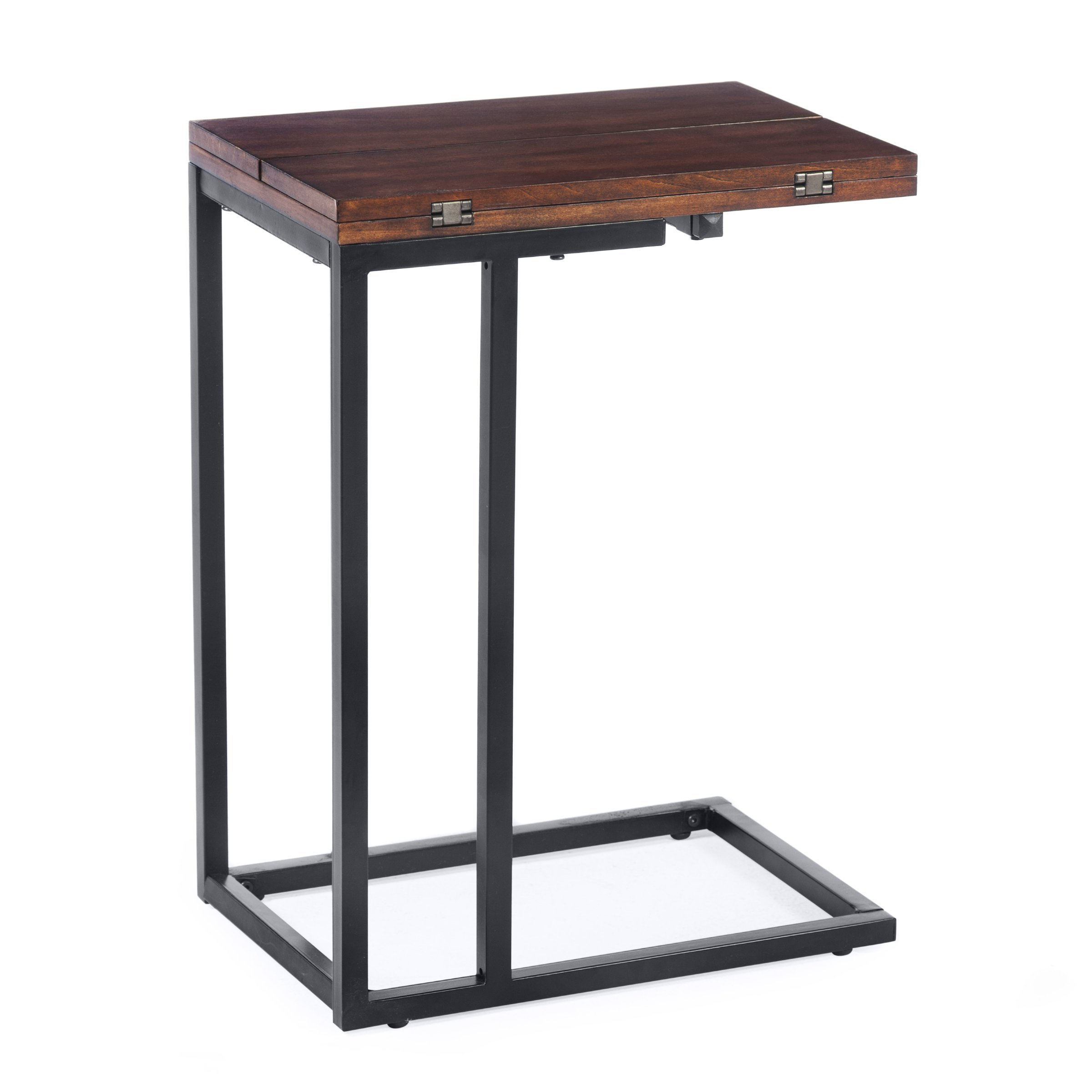 24 in. Expanding C-Table - Espresso