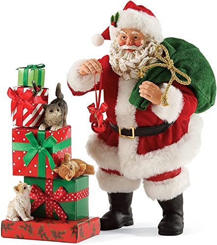 Department 56 Possible Dreams Three Little Kittens Santa 9.5, inch