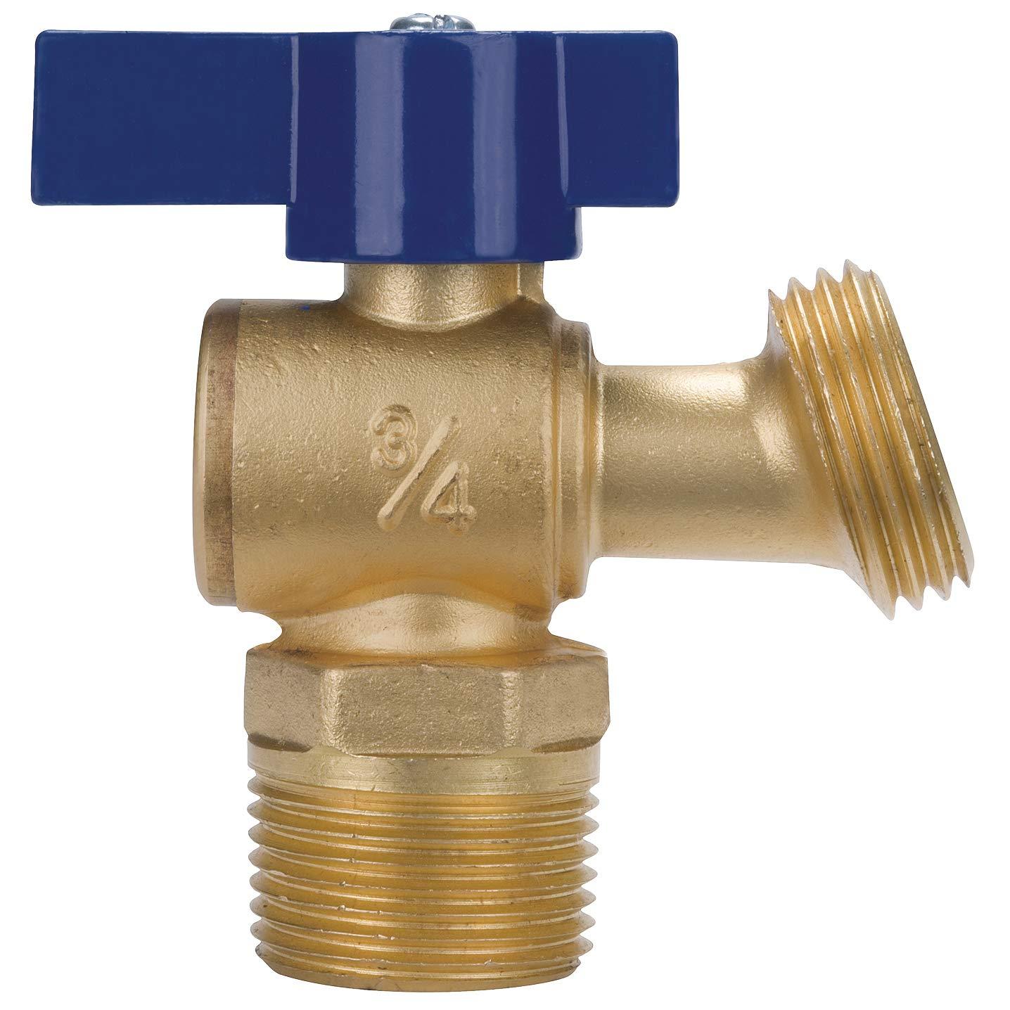 QT74 X 3//4 Quarter Turn Boiler Drain-Male