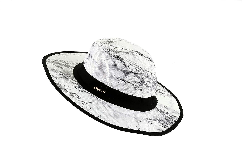 Black Phornthip Sports Wear Co Tyvek /& Sponge Mesh hat Ltd. Capthai Marble P Size F