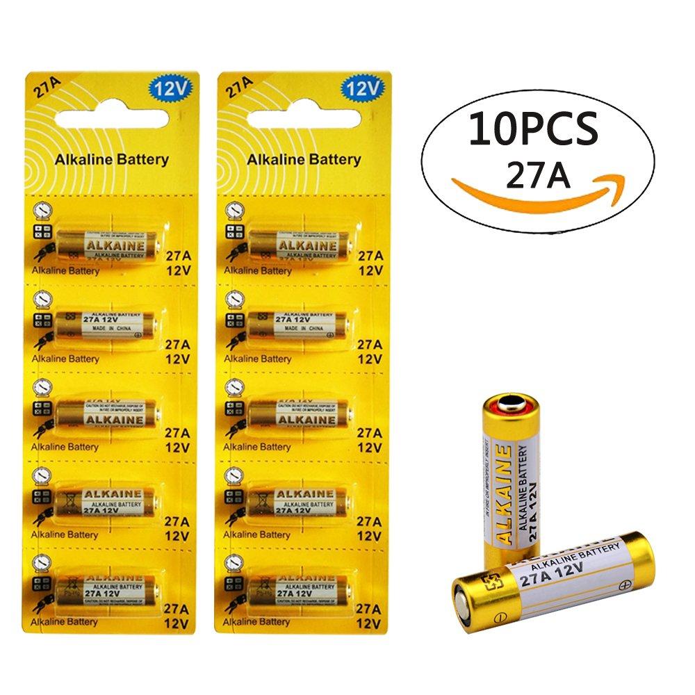 LiCB 27A 12V Alkaline Battery (10-pack)