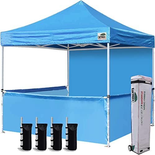 Eurmax 10'x10' Ez Pop-up Booth Canopy Tent Commercial Instant Canopie