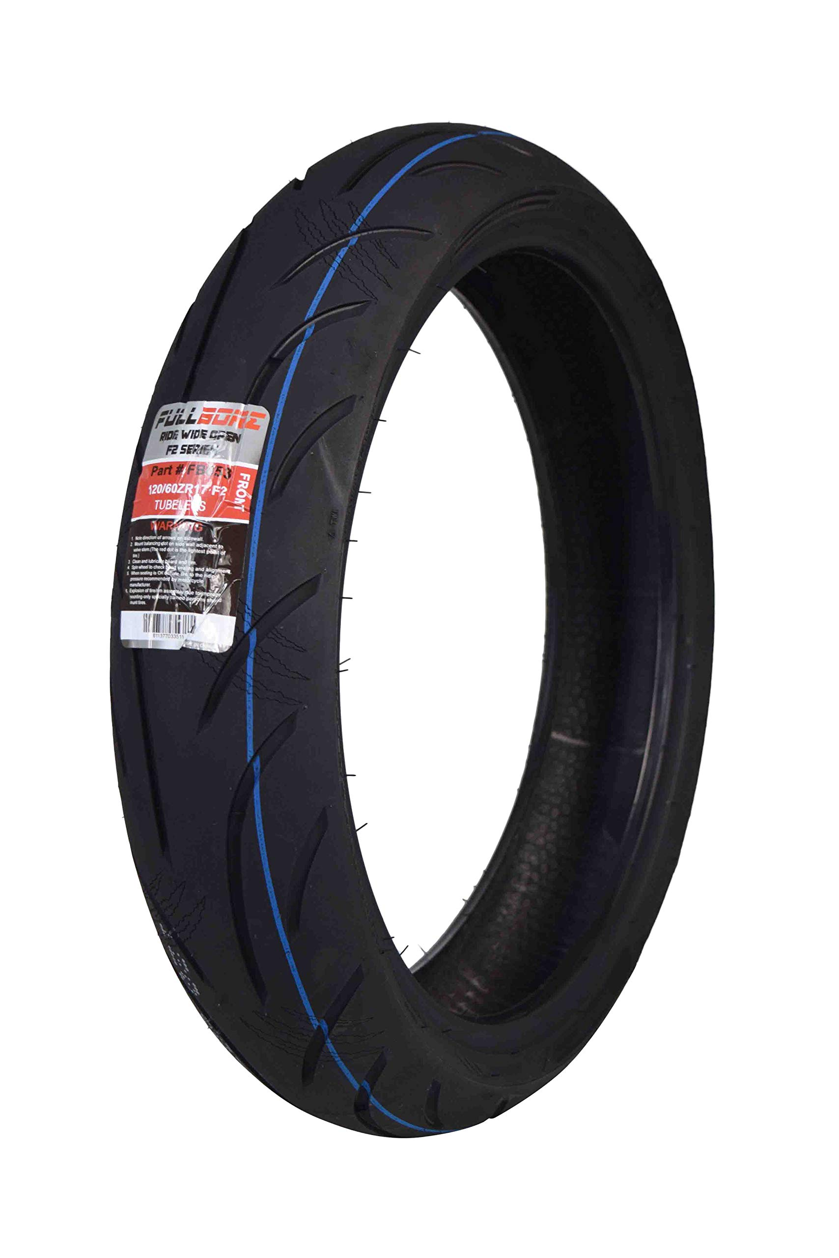 Full Bore F2 Sport Bike Radial Motorcycle Tire (120/60ZR17)