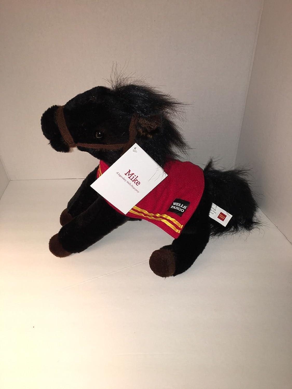 amazon com wells fargo legendary plush horse mike toys u0026 games