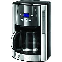 Russell Hobbs Dijital Kahve Makinesi Luna Gri, Programlanabilir Zamanlayıcı, 12 Fincana Kadar, 1,5 Litrelik Cam Sürahi…