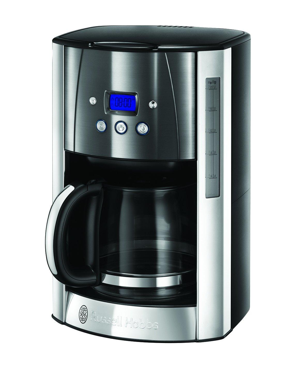 Russell Hobbs Luna Copper Accents Macchina del caffè Americano, 1000 W, 12 Tazze, W, Acciaio Inossidabile, Bronzo 24320-56