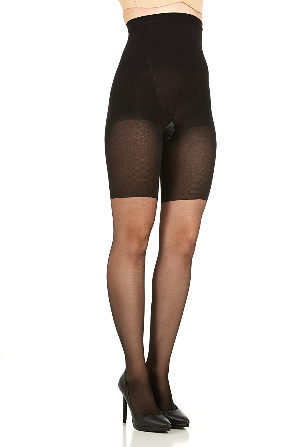 7007a5a43c40b ASSETS Red Hot Label High Waist Shaping Pantyhose 1845 at Amazon Women s  Clothing store