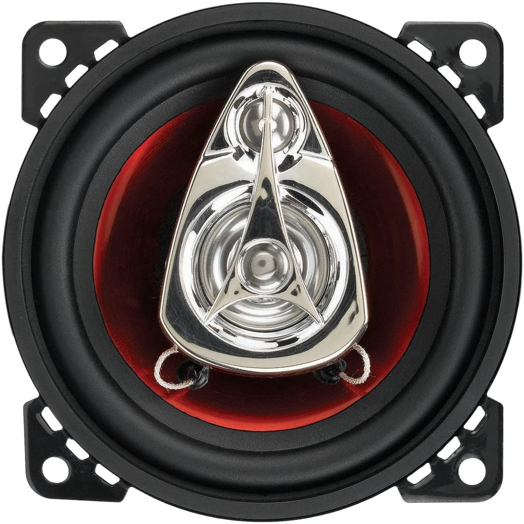 225 Watts of Power Per Pair and 112.5 Watts Each Sold in Pairs BOSS Audio Systems CH4230 Car Speakers Easy Mounting 3 Way 4 Inch Full Range