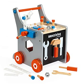 Janod J06478 Chariot Magnetique Brico Kids