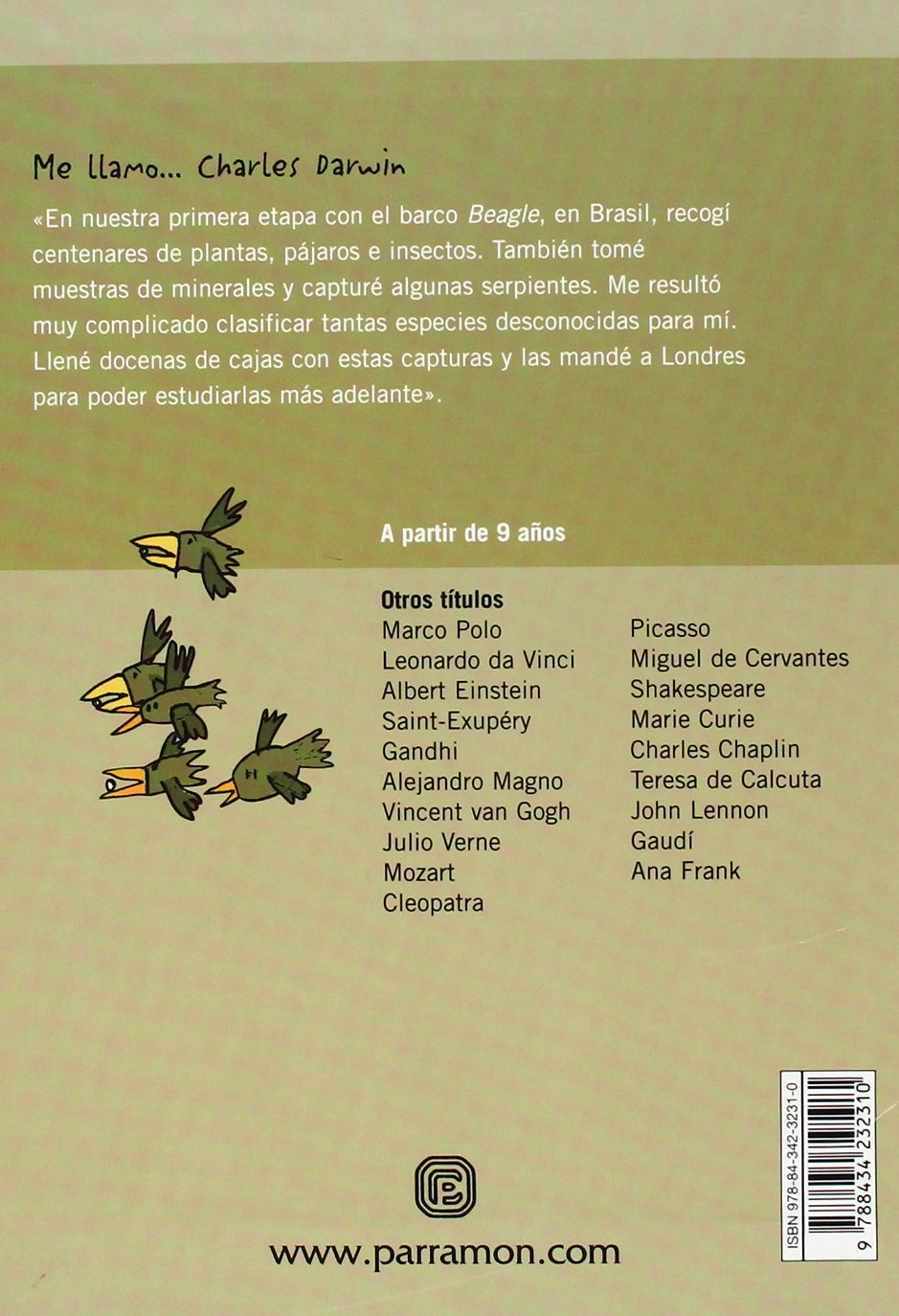 Charles Darwin (Me llamo / My name is) (Spanish Edition): Mateu Lluis Cugota, Teresa Marti: 9788434232310: Amazon.com: Books