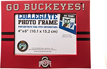 Collegiate Pulse Ohio State Buckeyes NCAA PVC Photo Frame