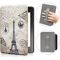 Case para Novo Kindle Paperwhite à prova d'água Função Liga/Desliga (Paris)